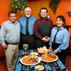 Chile Mercado Mexican restaurant at I-40 and SE 15 (4640 SE 15) in Del City. From left, owner and staff include Albert Fonseca, Jack Young, Matthew Young and Leticia Hernandez. Photo by Jim Beckel, The Oklahoman