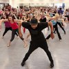 Leading choreographers and OCU alumni, brothers Marcel. shown here, and Kevin Wilson returned to Oklahoma City University to teach a dance class on Friday, Nov. 2, 2012, in the Ann Lacy School of American Dance and Arts Management on the school\'s campus. The Wilson brothers are well known in the music and dance industry for their cutting-edge choreography and unique fusion of jazz, contemporary, hip hop, pop and musical-theater dance. They have performed with recording artists including Madonna, Beyonce, the late Whitney Houston and have toured globally with entertainers such as Janet Jackson, Britney Spears and Christina Aguilera. Photo by Jim Beckel, The Oklahoman