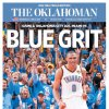 The Oklahoman, June 13, 2012, after the Thunder\'s Game 1 win over the Miami Heat in the NBA Finals.