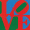 This undated photo provided by New York\'s Whitney Museum of American Art shows Robert Indiana\'s 1966 oil painting