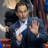 Photo - Vancouver Canucks head coach John Tortorella gestures on the bench during third period of an NHL hockey action against the Nashville Predators in Vancouver, British Columbia, on Wednesday, March 19, 2014. (AP Photo/The Canadian Press, Darryl Dyck)