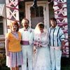 Pebbles and Greg Smith on their wedding day with two family members. Community Photo By: Michael Hauk Submitted By: Pebbles, Oklahoma City