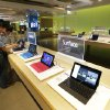 Photo -  Microsoft Surface tablet computers are on display July 3 at the Microsoft Visitor Center in Redmond, Wash. As Microsoft competes with Apple and other companies for hardware sales, the software giant has put a new emphasis on product design. AP Photo   Ted S. Warren -  AP