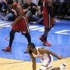 Oklahoma City\'s James Harden (13) celebrates a three-point shot during Game 1 of the NBA Finals between the Oklahoma City Thunder and the Miami Heat at Chesapeake Energy Arena in Oklahoma City, Tuesday, June 12, 2012. Photo by Sarah Phipps, The Oklahoman