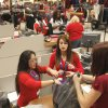 Items are rung up at the register as shoppers turn out for early Black Friday shopping at the Kohl\'s store in Midwest City, OK, Friday, November 23, 2012, By Paul Hellstern, The Oklahoman