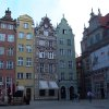 In the Old Town area of Gdansk, Poland, the historic Green Gate opens to Long Market Street\'s Dutch narrow houses that were once occupied by wealthy merchants and traders. Photo courtesy of Athena Lucero.