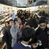 Customers wait in line in the computer department to shop for Black Friday discounts at a Best Buy store, Friday Nov 23, 2012, in Northeast Philadelphia. (AP Photo/ Joseph Kaczmarek)