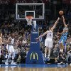 Oklahoma City Thunder\'s Nick Collison (4) defends a shot by New Orleans Hornets\' Brian Roberts (22) during the NBA basketball game between the Oklahoma CIty Thunder and the New Orleans Hornets at the Chesapeake Energy Arena on Wednesday, Dec. 12, 2012, in Oklahoma City, Okla. Photo by Chris Landsberger, The Oklahoman