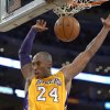 Los Angeles Lakers guard Kobe Bryant dunks during the second half of their NBA basketball game against the Golden State Warriors, Friday, Nov. 9, 2012, in Los Angeles. The Lakers won 101-77. (AP Photo/Mark J. Terrill)