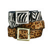 Photo - FASHION / ACCESSORIES: Animal prints belts from Target.  ORG XMIT: 0811201835281834