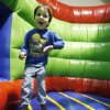 Three-year-old Noah Sommer bounces on one of the inflatables at Bouncin\' Craze in north Oklahoma City, OK, Friday, Jan. 2, 2009. BY PAUL HELLSTERN, THE OKLAHOMAN