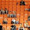 OSU fans watch during the Big 12 college basketball game between Oklahoma State and Missouri at Gallagher-Iba Arena in Stillwater, Okla., Wednesday, Jan. 21, 2009. PHOTO BY BRYAN TERRY, THE OKLAHOMAN