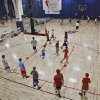 Campers take their game to the court during Los Angeles Clippers Blake Griffin\'s basketball camp held at the Santa Fe Family Life Center on Wednesday, Aug. 2, 2011, in Oklahoma City, Okla. Photo by Chris Landsberger, The Oklahoman