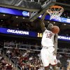 OU\'s Juan Pattillo dunks the ball during a first round game of the men\'s NCAA tournament between Oklahoma and Morgan State in Kansas City, Mo., Thursday, March 19, 2009. PHOTO BY BRYAN TERRY, THE OKLAHOMAN