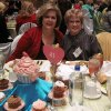 Joy Tucker and Lynn White had lunch at the National Cowboy and Western Heritage Museum. (Photo by Helen Ford Wallace).