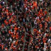 The OSU team makes their way to the stadium during the Spirit Walk before the Bedlam college football game between the Oklahoma State University Cowboys (OSU) and the University of Oklahoma Sooners (OU) at Boone Pickens Stadium in Stillwater, Okla., Saturday, Dec. 3, 2011. Photo by Bryan Terry, The Oklahoman
