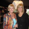 GOLF SHOP GRAND OPENING...Karen Ingram and Laurie Hyde were at the Grand Opening of the Golf Shop. (Photo by Helen Ford Wallace).