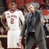 Photo - OU coach Jeff Capel, right, has talked a lot about his players' body language.  Photo by Nate Billings, The Oklahoman