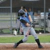 Zack Humphrey hitting the ball. OKC Adult Baseball Community Photo By: Dean Humphrey Submitted By: ryan,