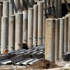 Workers prepare to remove steel beams from the old I-40 crosstown in Oklahoma City , Tuesday August 21, 2012. Photo By Steve Gooch, The Oklahoman