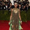 """Lupita Nyong\'o attends The Metropolitan Museum of Art\'s Costume Institute benefit gala celebrating """"Charles James: Beyond Fashion"""" on Monday, May 5, 2014, in New York. (Photo by Charles Sykes/Invision/AP)"""
