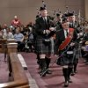 The Oklahoma Scottish Pipes and Drums members lead the procession inside the First United Methodist Church during the 18th Anniversary Remembrance Ceremony of the Oklahoma City bombing on Friday, April 19, 2013, in Oklahoma City, Okla. Photo by Chris Landsberger, The Oklahoman