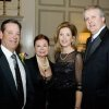 SAE\'S CELEBRATE 100...Buck and Alexia Arrington and Cindy and Tom Riesen were at the SAE party celebrating the OU fraternity\'s 100 years. (Photo by Steve Maupin).
