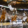 Michigan State\'s Keith Appling (5) dunks against Texas during an NCAA college basketball game Saturday, Dec. 22, 2012, in East Lansing, Mich. (AP Photo/Jackson Citizen Patriot, Mike Mulholland) LOCAL TV OUT LOCAL INTERNET OUT
