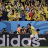 Photo - Brazil's Fred celebrates after scoring his side's third goal during the group A World Cup soccer match between Cameroon and Brazil at the Estadio Nacional in Brasilia, Brazil, Monday, June 23, 2014. (AP Photo/Bernat Armangue)