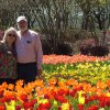 Sam and Mary Lou George of Harrah enjoyed the beauty of DallasBlooms on Monday, March 20. The botanical garden boasts more than 400,000 tulips plus azaleas, poppies and pansies and more all in bloom after a weekend of rain. Community Photo By: Lin Archer Submitted By: lin,