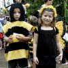 Twins Jake and Kyndall Wells, 4, of Purcell dressed as a bee and butterfly to release ladybugs at the Myriad Botanical Gardens Thurs. May 7, 2009 in OKC. Photo by Jaconna Aguirre,The Oklahoman.