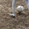 A player warms up during soccer practice at an abandoned lot near Dove Science Academy in Oklahoma City, Tuesday, March 27, 2012. Photo by Sarah Phipps The Oklahoman