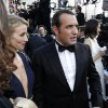 Jean Dujardin arrives before the 84th Academy Awards on Sunday, Feb. 26, 2012, in the Hollywood section of Los Angeles. (AP Photo/Chris Carlson) ORG XMIT: OSC395