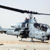 Photo -   This undated image provided by the US Marines shows a AH-1W