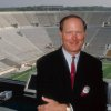 Photo - NOTRE DAME FOOTBALL -- NBC Sports -- Pictured: Pat Haden, Notre Dame Football Analyst -- NBC Photo: Mike Bennett ORG XMIT: 0712262152533697
