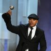 LL Cool J accepts the award for outstanding actor in a drama series for