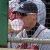 Photo -   Atlanta Braves Chipper Jones sits in the dugout during the first inning of a baseball game against the Pittsburgh Pirates in Pittsburgh Wednesday, Oct. 3, 2012. (AP Photo/Gene J. Puskar)