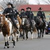 Members of the Oklahoma County Sheriff\'s Dept. ride in the Stockyards City Christmas parade in Oklahoma City, OK, Saturday, December 1, 2012, By Paul Hellstern, The Oklahoman