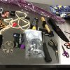 This image provided by the Los Angeles Police Department shows material seized from the luggage of Yongda Huang Harris while trying to enter the United States at Los Angeles International Airport. A detention hearing was held Friday Oct. 12, 2012 for Harris where he was remanded back into custody. (AP Photo/LAPD)
