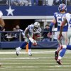 Photo -   Dallas Cowboys wide receiver Dez Bryant (88) picks up, then fumbles a punt against the New York Giants during the first half of an NFL football game Sunday, Oct. 28, 2012 in Arlington, Texas. (AP Photo/Sharon Ellman)