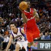 Photo -   Los Angeles Clippers' Chris Paul, right, shoots past Phoenix Suns' Steve Nash (13) during the first half of an NBA basketball game, Thursday, April 19, 2012, in Phoenix. (AP Photo/Matt York)