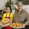 Photo - Cyrus and Patty Naheed are the owners of the last remaining Big Ed's Hamburgers at 12209 N Pennsylvania Ave. in Oklahoma City, OK, Friday, August 29, 2014,  Photo by Paul Hellstern, The Oklahoman