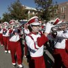 Bennett Oden plays trumpet with the Pride of Oklahoma Marching Band during the University of Oklahoma Homecoming Parade in Norman, Okla., Saturday, Oct. 20, 2012. Photo by Garett Fisbeck, The Oklahoman