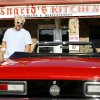 Guy Fieri from the Food Network\'s Diners, Drive-Ins and Dives at Ingrid\'s Kitchen in Oklahoma City Tuesday, May 19, 2009. Photo by Paul B. Southerland, The Oklahoman