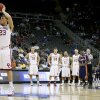 OU\'s Blake Griffin shoots a free throw after a flagrant foul during a first round game of the men\'s NCAA tournament between Oklahoma and Morgan State in Kansas City, Mo., Thursday, March 19, 2009. PHOTO BY BRYAN TERRY, THE OKLAHOMAN