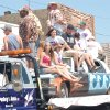 Darin Sherman leads the way for Class of 1996. The class won 3rd place in the 100th Chandler Alumni Parade. Community Photo By: Steve Aylor Submitted By: Mitzi, Yukon