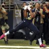 St. Louis Rams wide receiver Chris Givens catches a 51-yard pass for a touchdown during the fourth quarter of an NFL football game against the Arizona Cardinals, Thursday, Oct. 4, 2012, in St. Louis. (AP Photo/L.G. Patterson)