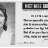 "This image provided by the MTA courtesy of the New York Transit Museum shows Ellen Hart, who appeared on placards in the New York City subways during March and April of 1959 in the ""Meet Miss Subways"" campaign that ran for 35 years as eye candy to bring attention to other advertisements in New York's transit system."