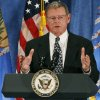 U.S. Sen. Jim Inhofe R-Tulsa delivers a speech during a fund-raising event at the Doubletree Hotel in Tulsa, Okla., Friday, April 27, 2007. By James Plumlee, The Oklahoman.