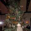 The Christmas tree is amazing! It is 30 feet tall with LED white lights and bronze, brown, gold, burgundy and pewter ornaments. (Photo by Helen Ford Wallace).
